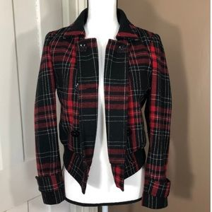 Jackets & Blazers - Plaid Express Coat